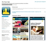 "Screen capture of ""The Pope App,"" launched by Vatican Jan. 23"