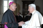 POPE GREETS BISHOP GUILLORY DURING 'AD LIMINA' VISITS TO VATICAN