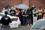Washington Navy Yard personnel evacuated after gunman opens fire inside Washington Navy Yard in nation's capital