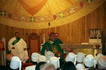 Bishop homily
