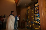 Blessing the Rosary