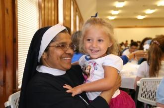 Sister Ancel and Danica Huff