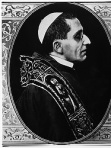 Pope Benedict XV, who served as pope from 1914-1922, is pictured in this image from L'Osservatore Romano's Fondo Giordani collection. He was elected pope less than six weeks after the outbreak of World War I -- and almost immediately started campaigning against it. (CNS photo/L'Osservatore Romano)