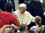 Pope says memorize the beatitudes, assess your care for the needy
